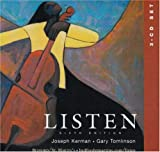 Joseph Kerman: 3 CD Set to Accompany Listen 6th Edition