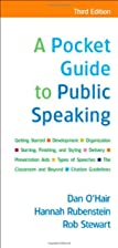 A Pocket Guide to Public Speaking by Dan /…