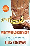 Friedman, Kinky: What Would Kinky Do?: How to Unscrew a Screwed-Up World