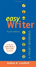 EasyWriter with 2009 MLA and 2010 APA…