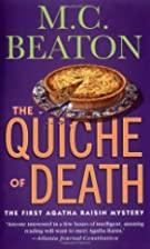 Agatha Raisin and the Quiche of Death by M.…