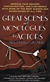 Schulman, Michael: Great Scenes and Monologues for Actors