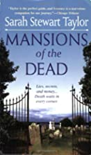 Mansions of the Dead by Sarah Stewart Taylor