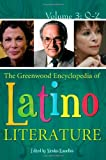 Kanellos, Nicolas: The Greenwood Encyclopedia of Latino Literature