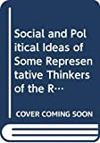 Hearnshaw, F.J.: Social and Political Ideas of Some Representative Thinkers of the Revolutionary Era: A Series of Lectures Delivered at Kings College Univ of London D