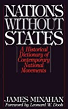 Nations without states : a historical…
