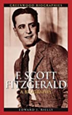 F. Scott Fitzgerald: A Biography (Greenwood…