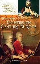 Women's Roles in Eighteenth-Century Europe…