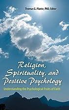 Religion, Spirituality, and Positive…