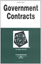 Government Contracts in a Nutshell by W.…