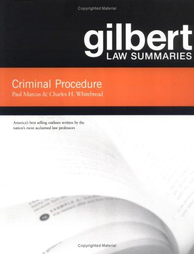 gilbert-law-summaries-criminal-procedure