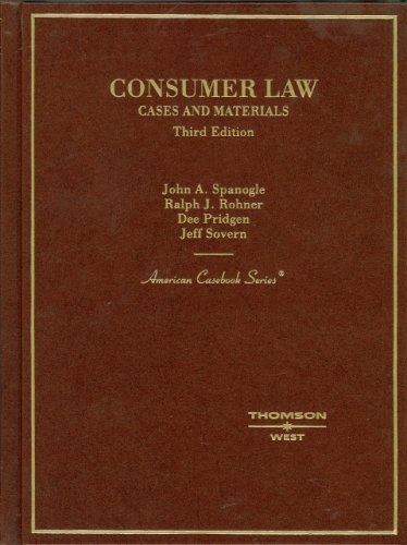 consumer-law-english-and-english-edition