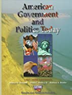American Government and Politics Today by…