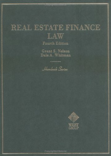 real-estate-finance-law-hornbook-series-and-other-textbooks