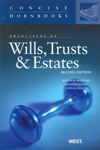 principles-of-wills-trusts-and-estates-concise-hornbook-series
