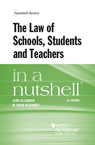 the-law-of-schools-students-and-teachers-in-a-nutshell-nutshells