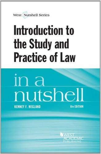 introduction-to-the-study-and-practice-of-law-in-a-nutshell-nutshells