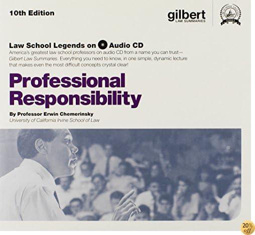 TProfessional Responsibility, 10th Edition (Law School Legends Audio Series)