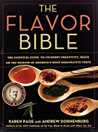 The Flavor Bible: The Essential Guide to…