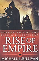 Rise of Empire (Riyria Revelations) by…