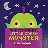 Emberley, Ed: Nighty Night, Little Green Monster