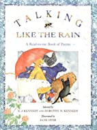 Talking Like the Rain: A Read-to-Me Book of…