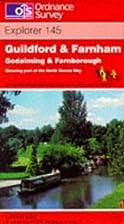 Explorer Map 145: Guildford & Farnham by…