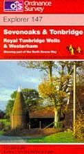 Explorer Map 147: Sevenoaks and Tonbridge by…