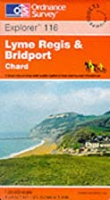 Explorer Map 116: Lyme Regis and Bridport by…