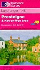 Landranger Map 148: Presteigne & Hay-on-Wye…