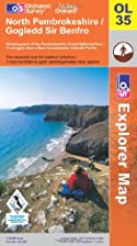 Outdoor Leisure Map 035: North Pembrokeshire…