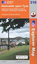 Explorer Map 316: Newcastle upon Tyne by…