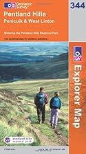 Explorer Map 344: Pentland Hills: Penicuik…
