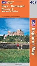 Explorer Map 407: Skye - Dunvegan by…