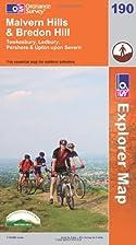 Explorer Map 190: Malvern Hills and Bredon…