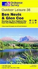 Outdoor Leisure Map 038: Ben Nevis and Glen…