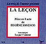 Eugene Ionesco: La Lecon audio cd