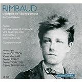 Arthur Rimbaud: Coffret Arthur Rimbaud: Oeuvres Poetiques Completes - Extraits de Correspondances - 12 Audio Compact Discs (French Edition)