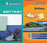 Michelin Travel Publications: Michelin Pack Brittany - Green guide in English plus Map