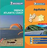 Michelin Travel Publications: Michelin Green Guide to Atlantic Coast (Bordeaux/Aquitaine) in English plus Map