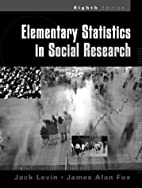 Elementary Statistics in Social Research by…