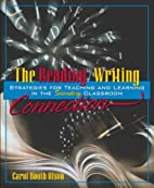 The Reading/Writing Connection: Strategies…