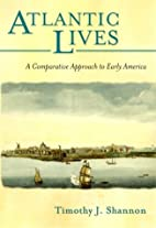 Atlantic Lives: A Comparative Approach to…