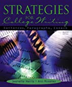 Strategies for College Writing: Sentences,…