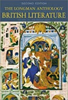The Longman Anthology of British Literature,…
