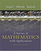 A survey of mathematics with applications by…