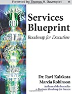 Services Blueprint: Roadmap for Execution by…