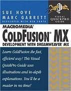 Macromedia ColdFusion MX Development with…