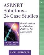 ASP.NET Solutions - 23 Case Studies: Best…