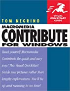 Macromedia Contribute for Windows by Tom…